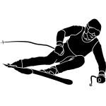 best-free-ski-clipart-skier-vector-image